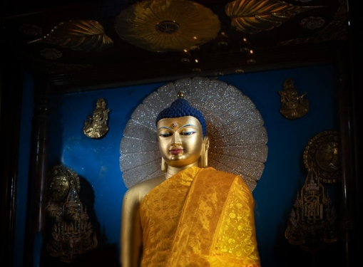 """""""Att göra gott, att undvika ont, att rena sitt sinne, det är de upplystas lära"""" Dhammapada 183"""
